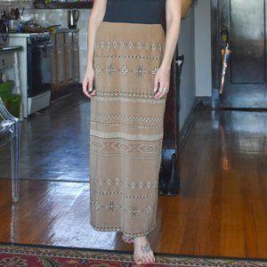 Vintage Maxi Skirt